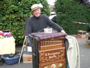 Traditionell und beliebt: der mobile Orgelspieler.